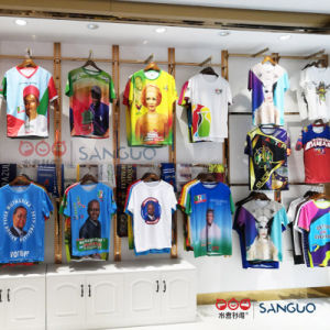 I Mens poco costosi Plain la campagna elettorale del Presidente Logo T-Shirt Supply che fa pubblicità a 3D