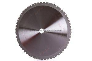 Utilização industrial da lâmina de serra circular com ponta de aço e corte de aço inoxidável