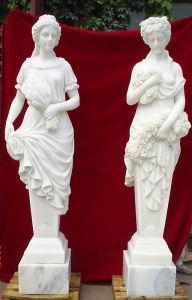 Trois Grâces sculpture en marbre avec haut de la qualité (SK-2450)
