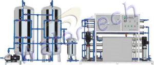 Pure Water Treatment Equipment (AWT-RO-1000)