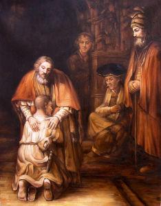 Reproductie van het Olieverfschilderij van 100% de Met de hand gemaakte van Oude Meester