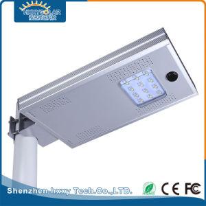 IP65 12Wの屋外の照明ランプの統合された太陽街灯