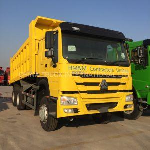 HOWO 18cbm 336CV Volquete 6X4/Dumper Truck con elevación ventral