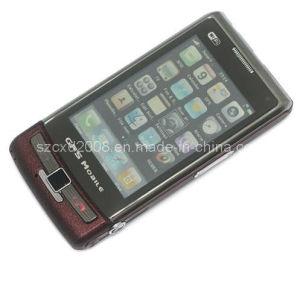 Telefono mobile doppio della fascia SIM TV del quadrato di GPS WiFi JAVA (CXD-W880)
