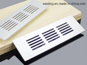 Grilles de ventilation de l'air d'une façon d'aération