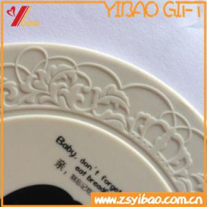 Housse en silicone de qualité alimentaire couvercle avec la conception de logo et d'impression personnalisée gravée/Logo en relief