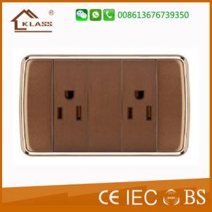 Qualité fiable prise 3 broches avec Chargeur USB