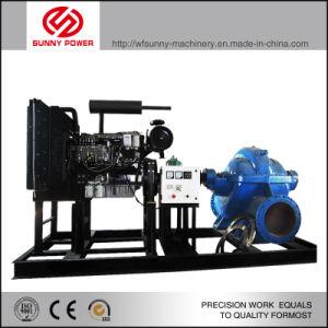 Diesel de 12 pulgadas de la bomba de agua para riego/control de las crecidas de caudal con grandes