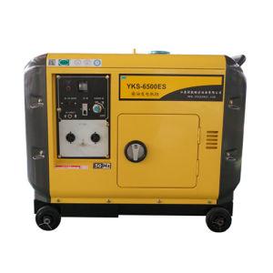 motore diesel 186fae del piccolo generatore elettrico silenzioso portatile 5kVA