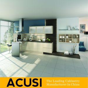 L moderna di vendita calda armadi da cucina della lacca di stile (ACS2-L42)