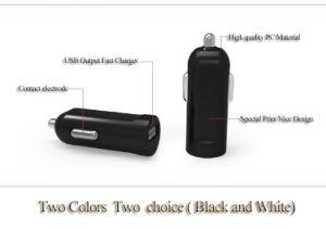 Новейшие Черный / Белый цвет 5V 2.1A автомобильное зарядное устройство USB адаптер
