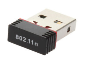 150Mbps 무선 USB 접합기 802.11 B/G/N 무선 근거리 통신망 카드