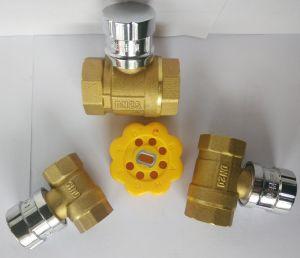 Valvola a sfera d'ottone per la conduttura dell'acqua