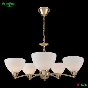 Indicatore luminoso interno di vetro europeo del lampadario a bracci con l'alta qualità