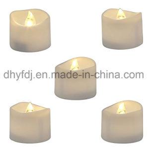 Weihnachtsbaum-Kerze-Licht der LED-Tee-Licht-mini batteriebetriebenes flammenloses flackerndes Beleuchtung-LED