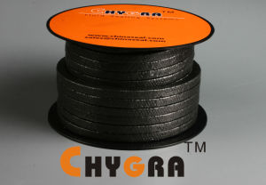 P1102 Grafite Expandido Embalagem trançada reforçados com fibra de vidro
