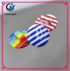 Tasto della mano protettiva della camicia del bambino della resina di colore della banda del Rainbow