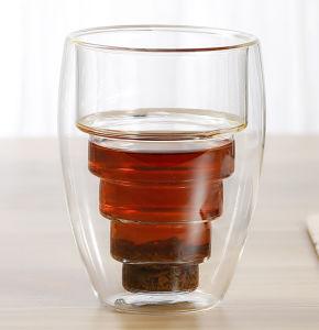 250ml borossilicatado de parede dupla Copo de vidro para chá, Expresso, caneca de café