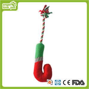 Plüsch-Weihnachtsgehender Stock-Spielzeug