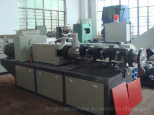 De alta calidad avanzada de la extrusora doble tornillo para tubería de PVC