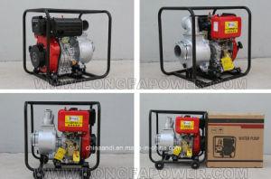 De 4 pulgadas de 10 CV diesel bomba de agua de riego agrícola