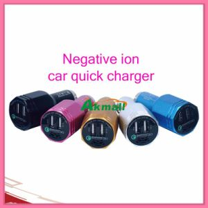 Caricatore rapido dell'automobile negativa dello ione