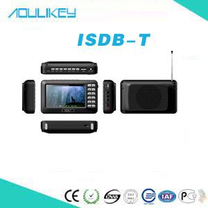Портативный телевизор Full HD 4.3inch/телевизор в салоне с FM для ISDB-T Dt-003