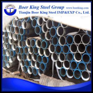Tubo d'acciaio galvanizzato Gi con gli accoppiamenti e le protezioni Bsp NPT