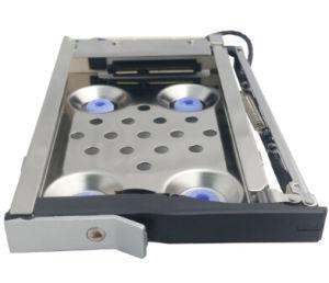 Один 2.5in жестких дисков для 3.5in лоток менее горячей замены Сантек алюминиевых дисков