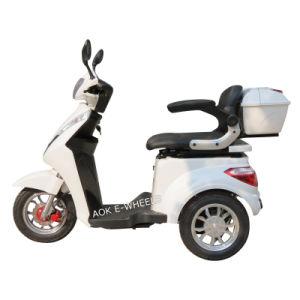 elektrischer untauglicher Roller des Rad-500With700W 3 mit Platte-Bremse (TC-022A)