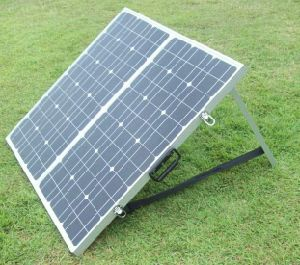 Panel solar plegable Portátil 160W con tapón de Anderson