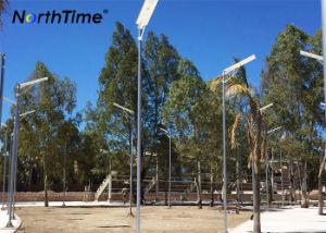 Los servicios de OEM y ODM condujo calle la luz solar con un panel solar