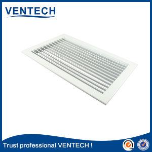 Produto de marca de alta qualidade Ventech Deflexão único de alumínio grelha de ar de suprimento e retorno Registrar