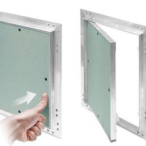 Plaques de plâtre de gypse Mur d'alimentation de carreaux de plafond panneau/Porte d'accès