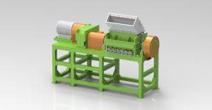 강판 기계의 장비를 재생하는 폐기물 타이어