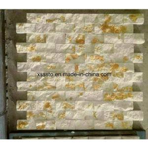 Cheap de quartz blanc / panneaux de parement en pierre d'ardoise pour la vente
