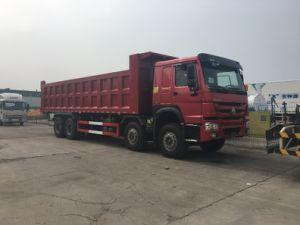 판매 (ZZ3317N3867W)를 위한 Sinotruk HOWO 31ton 8*4 팁 주는 사람 트럭