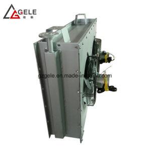 Flate 동관을%s 가진 알루미늄 탄미익 열교환기 콘덴서를 위한 송풍기