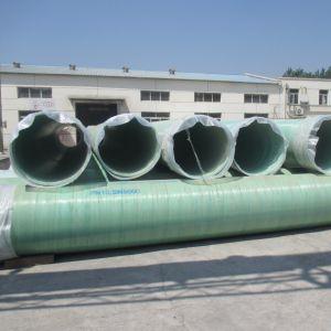 GRP 매끄러운 표면을%s 가진 지하 하수 오물 수관 가스관