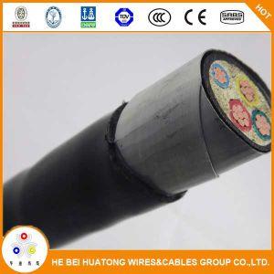 de Kabel van de Macht 0.6/1kv 4*25mm2 4*35mm2 Cu/XLPE/PVC/Sta/PVC