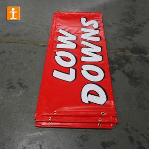 Customedの旗(TJ-71)を広告するデジタルによって印刷されるビニールの屈曲