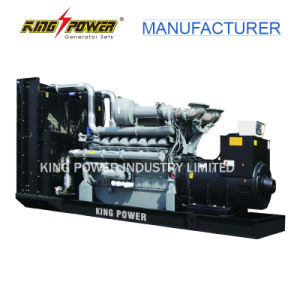 Alta potência de 1250kVA Motor Diesel com potência Perkins para exportação
