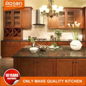 2018 de Amerikaanse Keuken Cabinetry van het Meubilair van de Keuken van de Esdoorn Stevige Houten