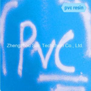 Matérias-primas químicas tipo de resina para o perfil e tubo de PVC