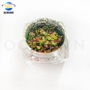 Chameleon lamelas irregulares Esmalte à base de pigmento de tinta com pigmento de efeito camaleão de impressão