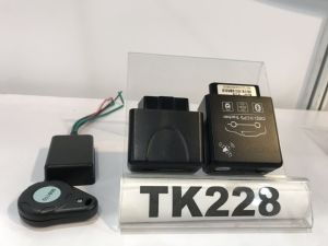 Installation facile OBD2 Voiture Tracker GPS avec diagnostics, Consumption-Ef de carburant
