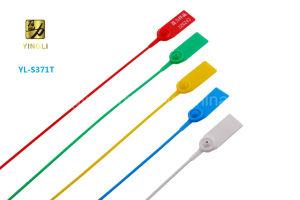 Puxe a vedação de segurança de plástico impermeável com inserção de metal (YL-S371T)