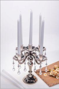 Copo de vidro de cor única suporte para velas (KL140228-15C)