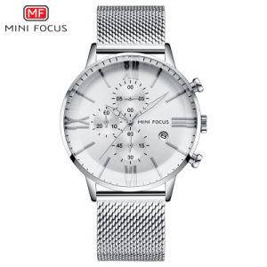 Mini Focus hommes montre-bracelet de quartz avec Verre minéral