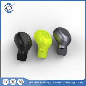 Custom mini estéreo desportivo fones de ouvido Bluetooth sem fio do fone de ouvido intra-auriculares com microfone